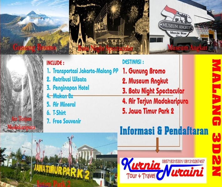 Paket Wisata Malang 3D2N